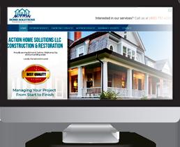 Web Aika Action Oklahoma portfolio example